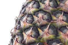 Nahes hohes der Ananas Stockfoto