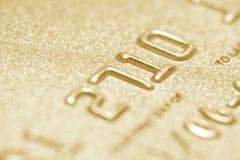 Nahes hohes der Kreditkarte Stockbilder