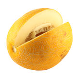 Nahes hohes der Melone Stockfoto
