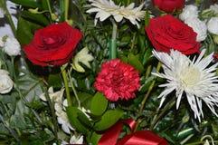 Nahes hohes des Blumenstraußes Lizenzfreie Stockfotografie