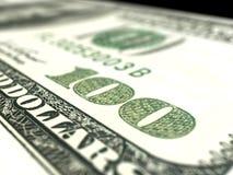 Nahes hohes des Dollars Lizenzfreies Stockfoto