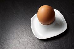Nahes hohes des Eies Stockbild