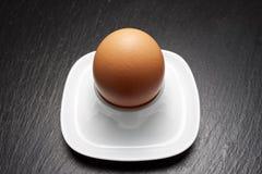 Nahes hohes des Eies Stockfotografie