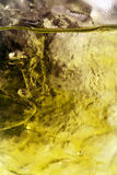 Nahes hohes des Eises und des Wassers Stockbilder