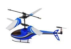 Nahes hohes des Hubschraubers Lizenzfreie Stockfotos