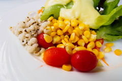 Nahes hohes des Salats Lizenzfreie Stockbilder