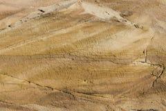 Nahes hohes des Sandsteins Stockbilder