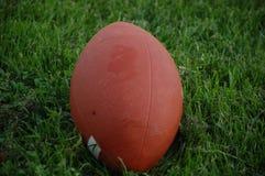 Nahes Rugby-amerikanischer Fußball Lizenzfreie Stockfotografie
