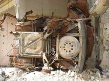 Nahr Al Bared Palestinian Camp destruction Royalty Free Stock Images