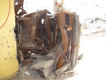 Nahr Al Bared Palestinian Camp destruction. The destruction of Nahr Al Bared Palestinian Camp in 2009 Stock Photos