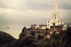 Nahr Al-Kalb, der Libanon Stockfotografie