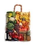 Nahrhafte Handtasche Lizenzfreie Stockbilder