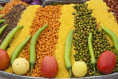 Nahrung in den Straßen von Indien Lizenzfreie Stockbilder