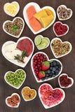 Nahrung der gesunden Di?t stockfotografie