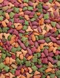 Nahrung für Haustierehintergrund Lizenzfreie Stockbilder