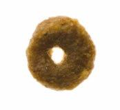 Nahrung für Haustieremakro des Ringes geformtes einzelnes Lizenzfreies Stockfoto