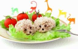 Nahrung für Kinder stockfoto