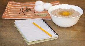 Nahrung Fleisch und Eier Lizenzfreie Stockfotografie