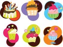 Nahrung und Sweeties Lizenzfreie Stockbilder