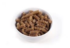 Nahrung - Vollweizen-Teigwaren stockfotos