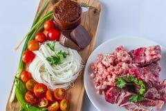 Nahrung von Thailand Stockfotografie