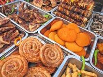 Nahrungsmittelüberfluß Lizenzfreie Stockbilder