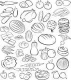 Nahrungsmittel Lizenzfreie Abbildung