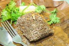 Nahrungsmittel Khao Kan Jin oder Jim Som Ngiao Thais Lizenzfreies Stockbild
