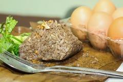 Nahrungsmittel Khao Kan Jin oder Jim Som Ngiao Thais Lizenzfreie Stockfotos