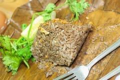 Nahrungsmittel Khao Kan Jin oder Jim Som Ngiao Thais Lizenzfreies Stockfoto