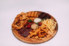 Nahrungsmittel, meen, sous, geschmackvoll, schön, restoran, Café, Rindfleisch, Schwein, fust Lizenzfreie Stockbilder
