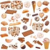 Nahrungsmittelansammlung stockbilder