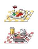 Nahrungsmittelaufbau Lizenzfreie Stockfotos