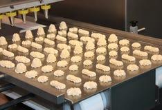 Nahrungsmittelaufbereitende Maschine. Stockfoto