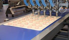 Nahrungsmittelaufbereitende Maschine. Lizenzfreies Stockbild