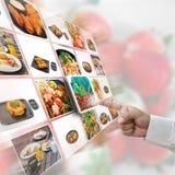 Nahrungsmittelauswahl Lizenzfreies Stockfoto