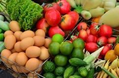 Nahrungsmittelbestandteile. stockbild