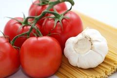 Nahrungsmittelbestandteile Stockfoto