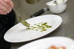 Nahrungsmitteldekoration Stockfotografie