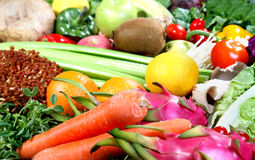Nahrungsmittelgruppe 4 Stockbild
