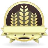 Nahrungsmittelkennsatz für vollständige Kornprodukte Lizenzfreies Stockbild
