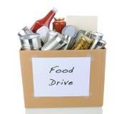 Nahrungsmittellaufwerk-Kasten Lizenzfreie Stockfotografie