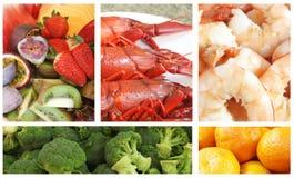 Nahrungsmittellebesmittelanschaffung stockfotos