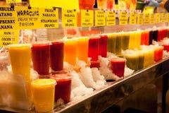 Nahrungsmittelmarkt in Barcelona Lizenzfreies Stockfoto
