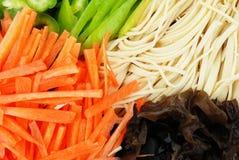 Nahrungsmittelmaterialien Lizenzfreie Stockfotos