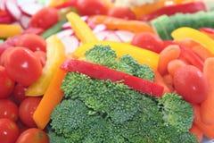Nahrungsmittelmehrlagenplatte Lizenzfreies Stockfoto