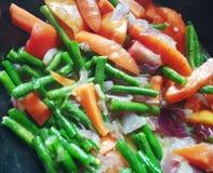 Nahrungsmittelnahrung schoss das Überraschen lizenzfreie stockfotos