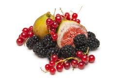 Nahrungsmittelnoch Leben, Fruchtaufbau Lizenzfreie Stockfotografie
