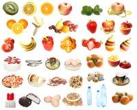 Nahrungsmittelset Stockfotografie