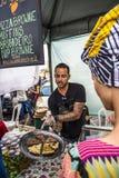 Nahrungsmittelstall, Salvador, Bahia, Brasilien lizenzfreie stockfotografie
